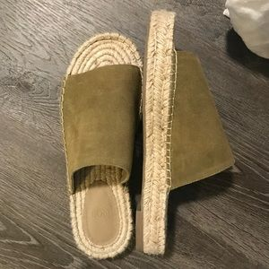 Urban Outfitters Espadrille Slide